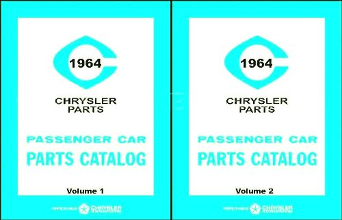 Factory Parts Manual For 1964 Plymouth - Dodge - Chrysler - Imperial