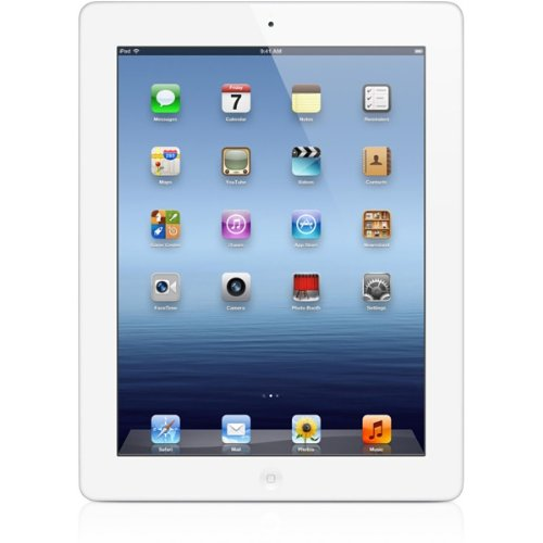 Apple FD365LL/A 9.7″ iPad 3 4G, 64 GB Unlocked Refurbished Tablet