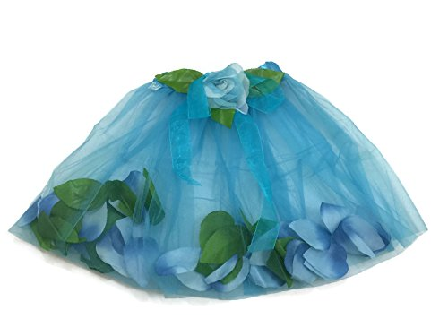 Rush Dance Flowers Green Petals Ballerina Girls Ballet Costume Recital Tutu