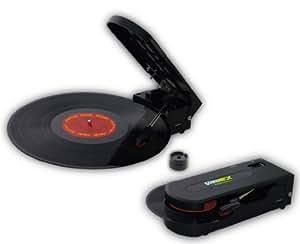 ノバック 超小型ポータブルレコードプレイヤー 兼 USB接続レコードデジタル変換機 SOUNDWICH NV-RP005U
