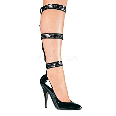 Sexy Shoes 5 inch High Heels Leg Buckle Pumps Sexy Shoes