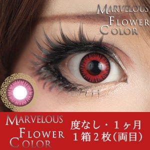 ±0.00 カラコン Marvelous Flower Color マーベラス フラワーカラー モミジ