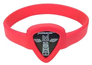 Pickbandz Bracelet Rockin' Red Small - Guitar Pick Holder Bracelet