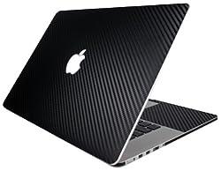 BodyGuardz Armor Carbon Fiber Full Body Stylish Protector for Apple 13-Inch MacBook Pro with Retina Display - Black (BZ-ACB3R-1012)