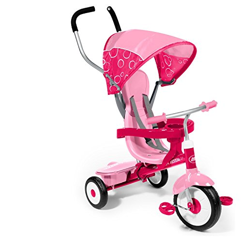 4-in-1 Trike with 3 Point Harness (Radio Flyer Pink 4 In 1 Trike compare prices)