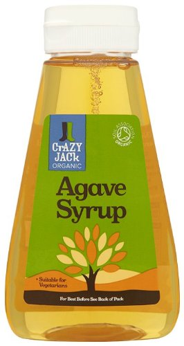 Crazy Jack Organic Squeezy Agave Syrup 250 ml(Pack of 3)