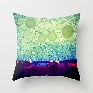 Jade Throw Pillows : Amazon.com - Society6 - Equilibrium Throw Pillow by Olivia Joy StClaire