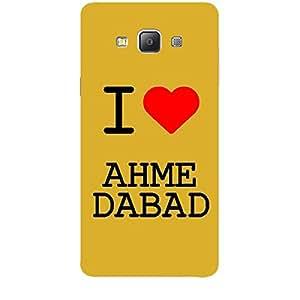 Skin4gadgets I love Ahmedabad Colour - White Phone Skin for SAMSUNG GALAXY A7 (A700)