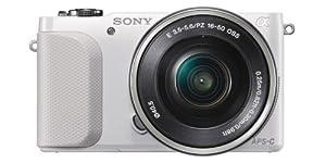 Sony NEX-3NW - Cámara EVIL de 16.0 Mp (pantalla de 3.0