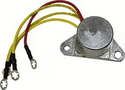 Marine Alternator Rectifier for Johnson Evinrude 4 Wire replaces 581778 582304