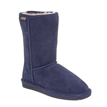 This tall women's boot by BEARPAW® offers a style that's well paired with denim, a casual skirt, or country dress, with a ruggedly comfortable design ideal for kicking around town. The upper is made of soft suede for a natural look, and the boot's lu...
