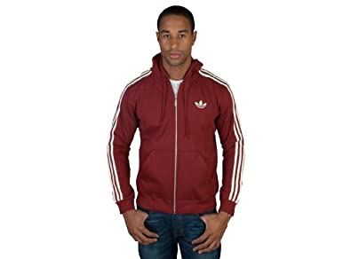 Amazon.com: Adidas Men's Originals SPO Hooded Flock Track Top Jacket