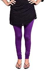 Anuradha Women's 4-way stretchable Cotton-Lycra Slim Fit Leggings (Size: X-Large)