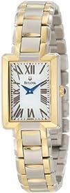 Bulova Womens 98L157 Two-Tone Bracelet Watch