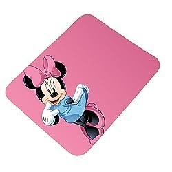 Clapcart Minnie Mouse Soft Design Printed Rubber Base Mat finish Mouse Pad For PC / Laptop - Multicolor