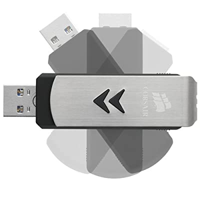 Corsair Cmfls3-32gb 32 Gb Pen Drives Black Steel