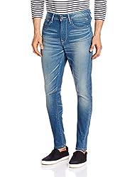Pepe Jeans Men's PM2018341 Slim Fit Jeans (8903872720729_RILEY-C_Ecru and Mist_38)