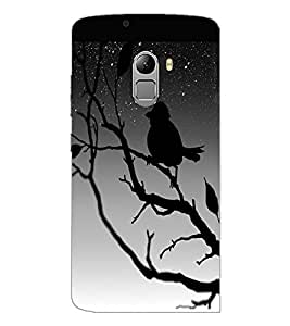 PrintDhaba Scary Night D-2454 Back Case Cover for LENOVO K4 NOTE A7010 (Multi-Coloured)