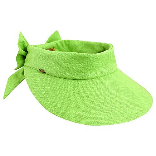 wallaroo-hats-cappello-parasole-con-protezione-uv-50-donna-scala-verde-lime-taglia-unica