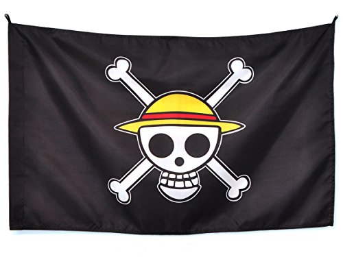 CoolChange bandiera di Jolly Rogers della ciurma del Cappello di Paglia