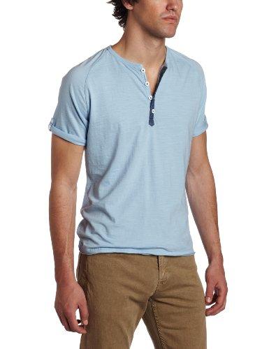 J.C. Rags Men's Light Slub Henley Shirt
