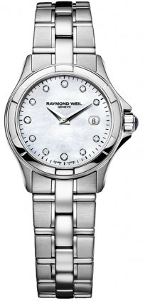 NEW RAYMOND WEIL PARSIFAL LADIES WATCH 9460-ST-97081