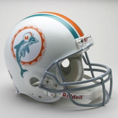 Miami Dolphins 1972 Full Size Helmet - NFL Tumblers