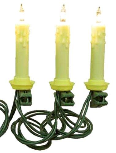 10 Christmas Tree Candles Lights [Ul0073]