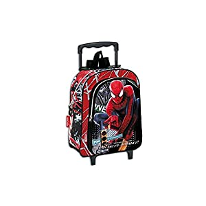 Spiderman The Amazing Small Wheeled Backpack