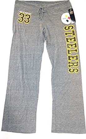 Pittsburgh Steelers Women S Grey Yoga Lounge Pant Summer