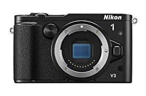 Nikon 1 V3 Compact System Camera Body Only - Black (18.4MP) 3.0 inch LCD