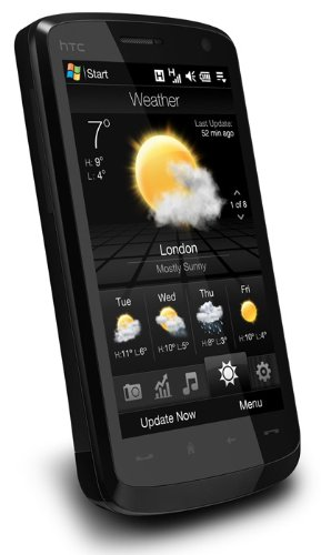 HTC Touch HD (Blackstone) (UMTS, HSDPA, 5MP, Touch Screen, 9,7 cm (3,8 Zoll) Display) Smartphone