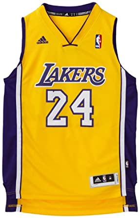 NBA Los Angeles Lakers Kobe Bryant Swingman Home Jersey Youth by adidas