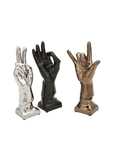 Set of 3 Cohen Ceramic Hands