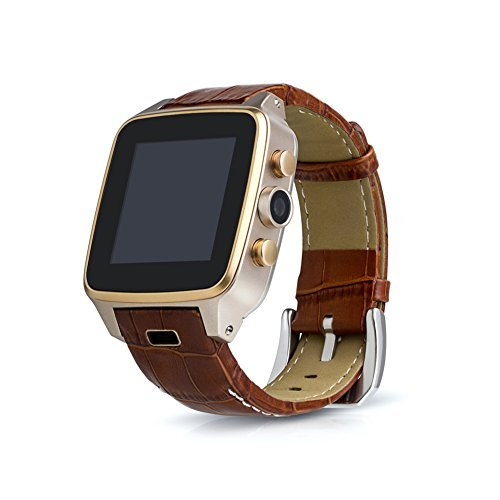 JideTech Smart Watch 5MP Camera Waterproof With 3G Mobile Phone Androis System Wrist GPS Watch