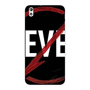 Enticing Never Flash Multicolor Back Case Cover for HTC Desire 816g