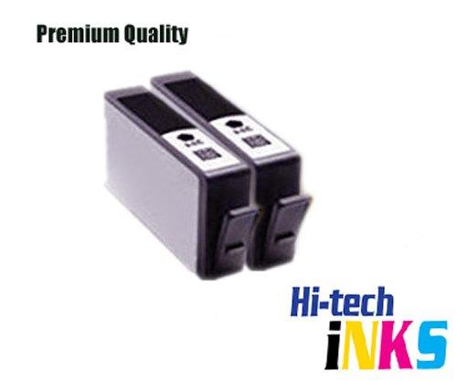 Kompatibel für HP 364XL, mit Chip, mit Tintenstand APEX) Tintenpatronen für Photosmart 5510, 5511, 5512, 5514, 5515, 5520, 5522, 5524, 6510, 6512, 6515, 6520, 7515, B010a, B109a B109d B109f,,, B109n B110a B110c B110e,,,,, für Photosmart Plus B209a B209c B210a B210c,,, B210d, Deskjet 3070A, 3520, 3522, 3524, Officejet 4610, 4620, hohe Kapazität 2 Blacks schwarz
