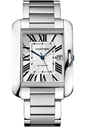 Cartier Tank Anglaise XL Automatic Men's Watch Watch - W5310008