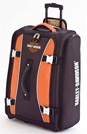 Harley-Davidson Wheeled Hybrid Travel Luggage. 29 inch. 99630-RUST/BLK