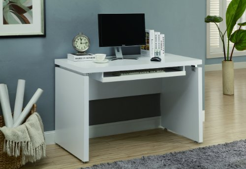 Monarch Computer Desk, 48-Inch, White