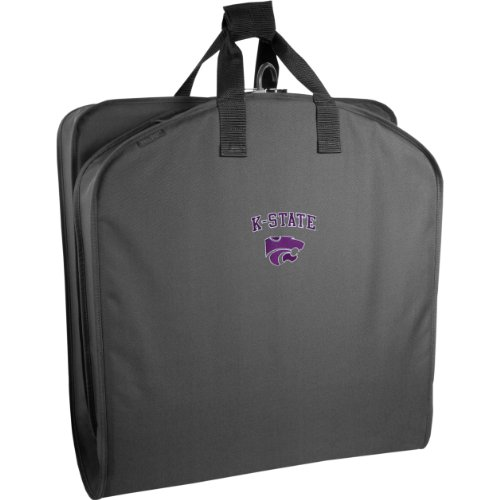 wallybags-kansas-state-wildcats-40-inch-suit-length-garment-bag-black-ksu-one-size