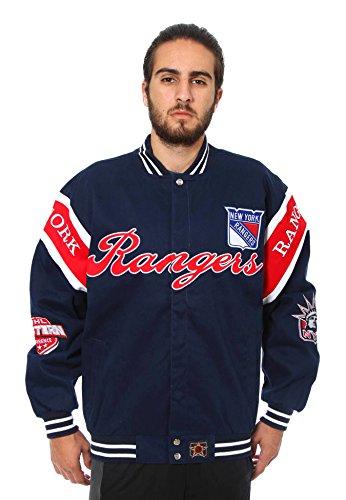 New York Rangers Cotton Twill Jacket (XXX-Large)
