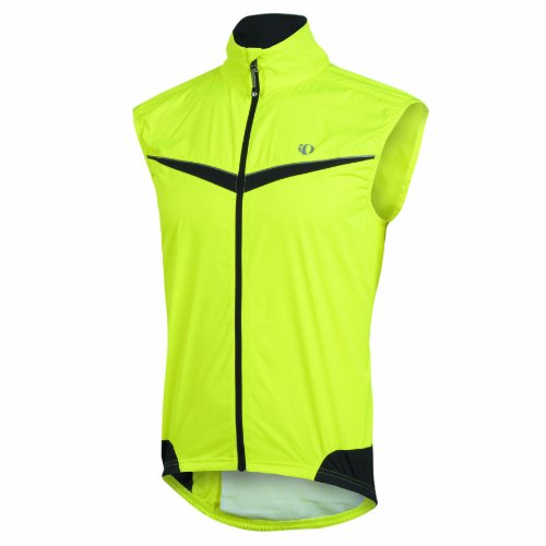 Pearl Izumi Men's Elite Barrier Vest,Screaming Yellow/Black,XX-Large