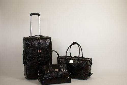 Kofferset 3 teilig - Croco-Design - PURE - Set