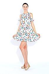 Naomi Code Women Shoulder Cutout Dress