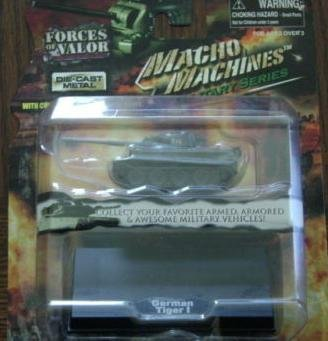 German Tiger Macho Machines Military Series DIE CAST Forces Of Valor - 1