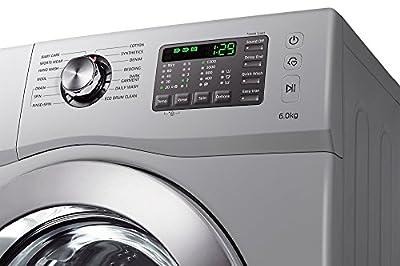Samsung WF602B2BHSD/TL Fully-automatic Front-loading Washing Machine (6 Kg, White)