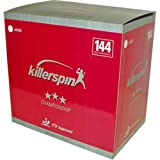 Killerspin Champion 3-Star 40mm Table Tennis Balls - 144 Pack