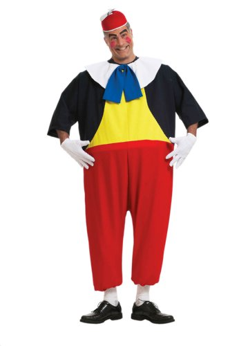 Alice in Wonderland - Tweedle Dee Adult Halloween Costume Size Standard