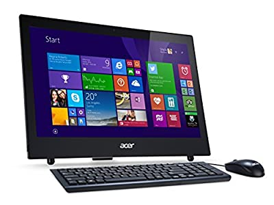 "Acer Aspire Z1-601 All-in-One 18.5"" LED, Processore Intel Celeron N2840, RAM 4GB, HDD 500 GB, Scheda Grafica Integrata, Nero"